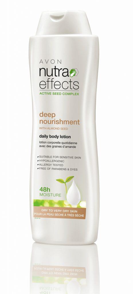 Avon Nutra Effects mélytápláló testápoló