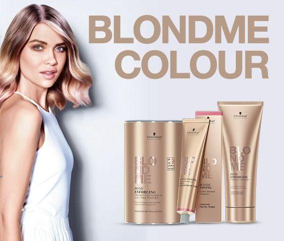 Schwarzkopf BlondMe szőkítő hajvédővel