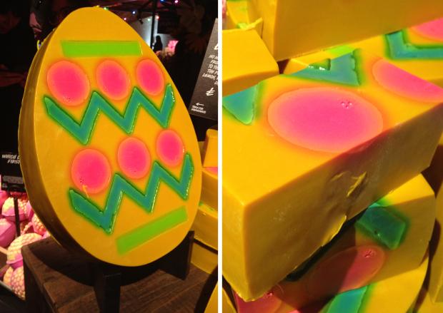 Lush húsvéti tojás szappan