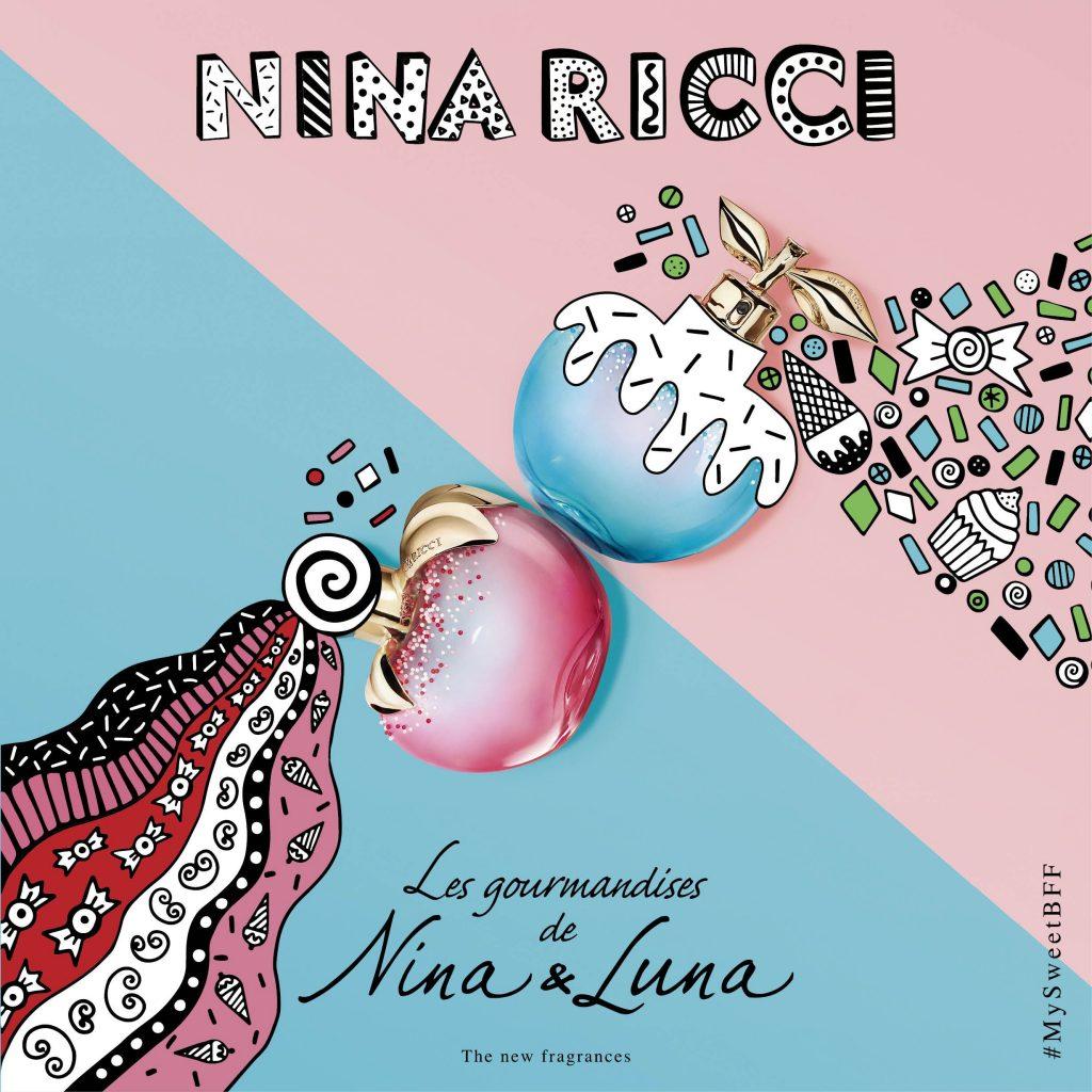 Les gourmandines de Nina & Luna - a Nina Ricci limitált nyári gourmet illatai