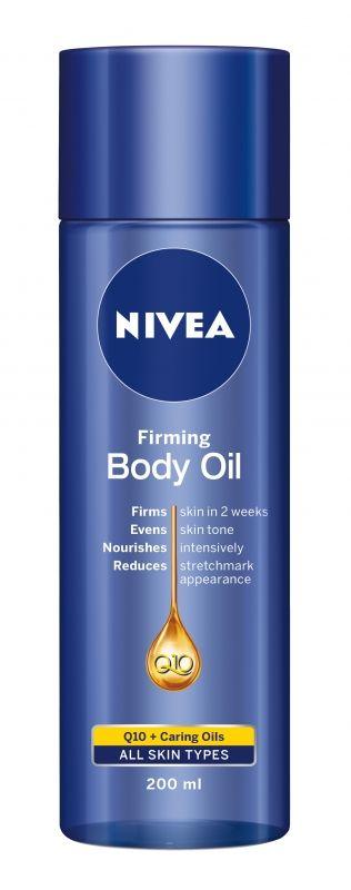Nivea Q10 plus bőrfeszesítő testápoló olaj