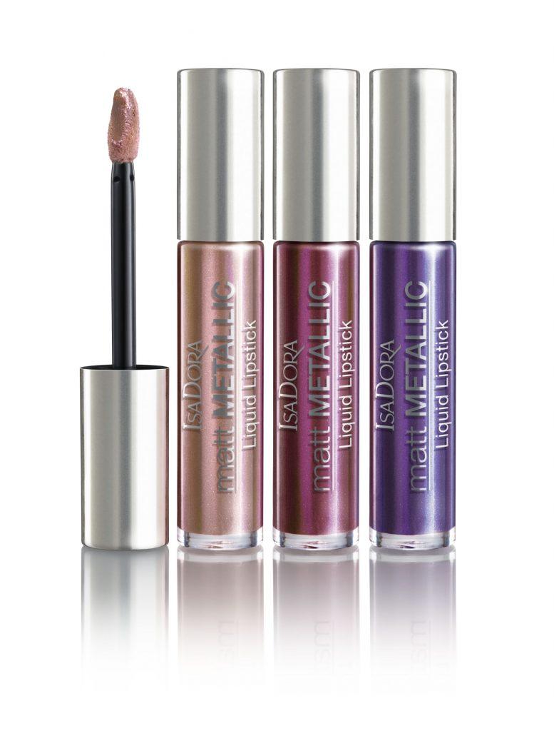 Isadora Matt Metallic Liquid Lipstick