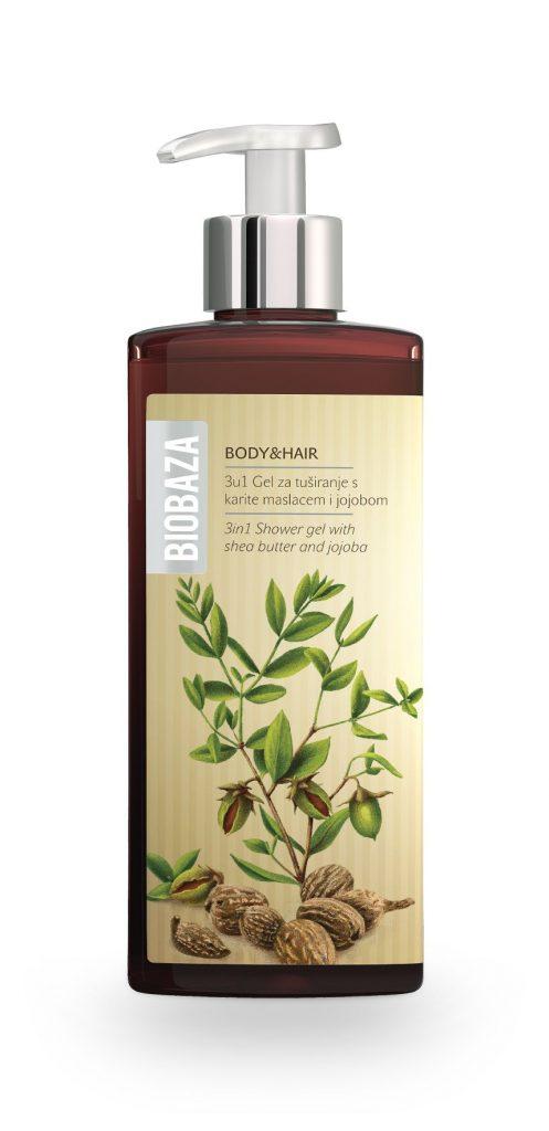 Biobaza Body & Hair 3in1 Shower gel