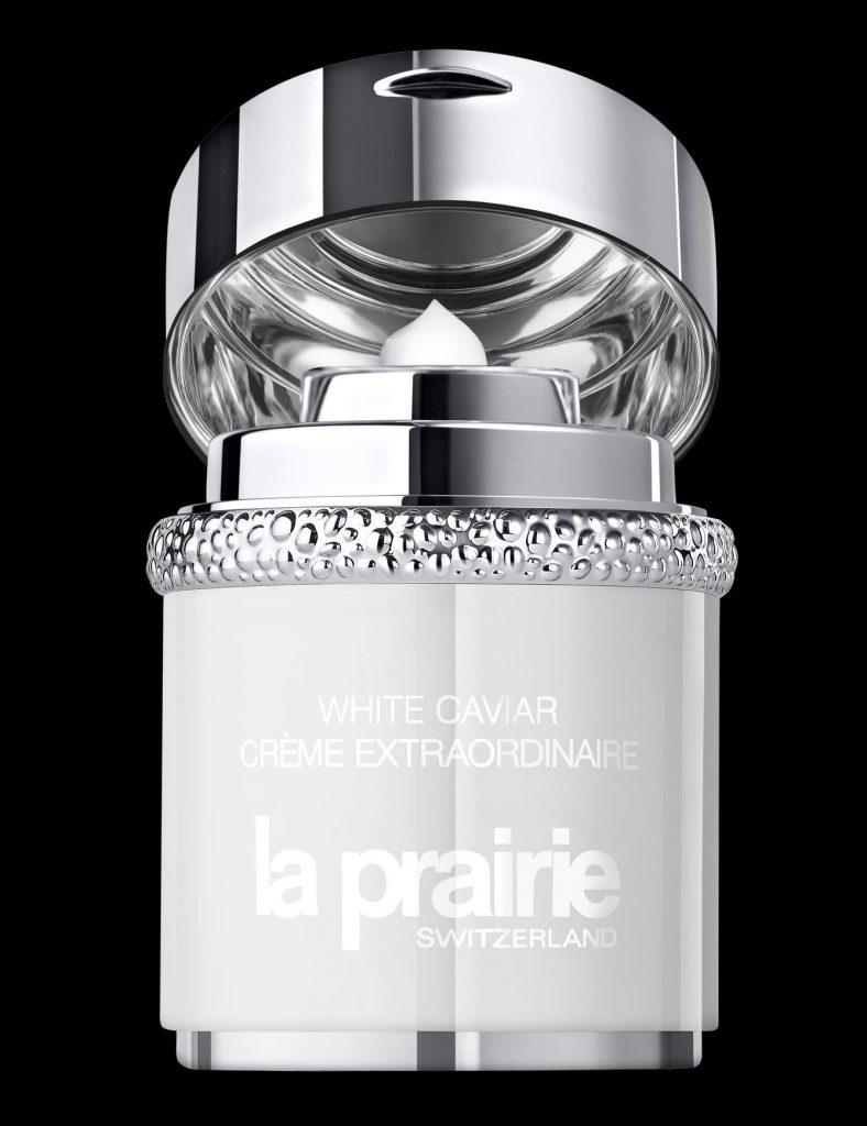 La Prairie White Caviar Extraordinaire Creme, pigmentfolt-halványítás, rúzs és más