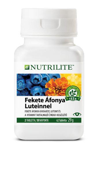 Nutrilite Áfonya luteinnel, szemerősítő étrendkiegészítő, rúzs és más