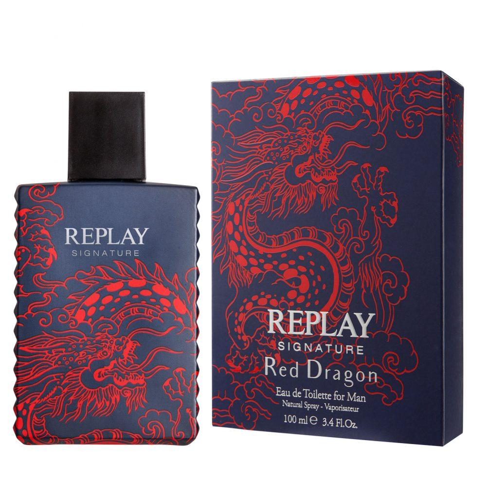 Replay Signature Secret, Red Dragon, rúzs és más, illatpár, rejtély