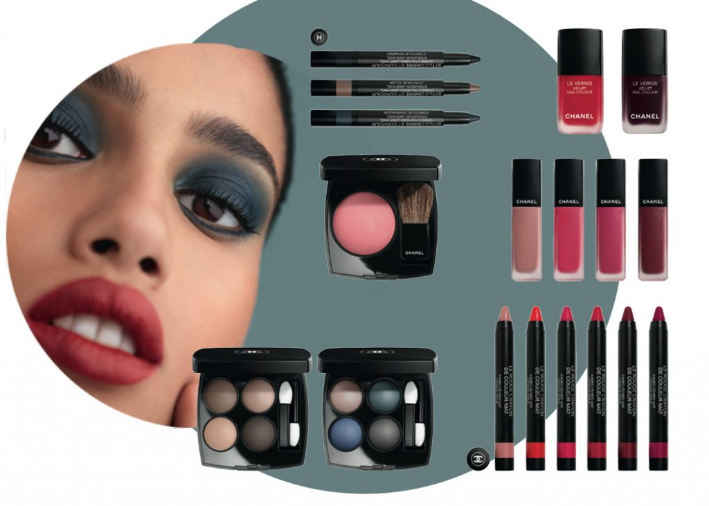 Le Mat de Chanel, matt, kollekció, őszi smink, rúzs és más