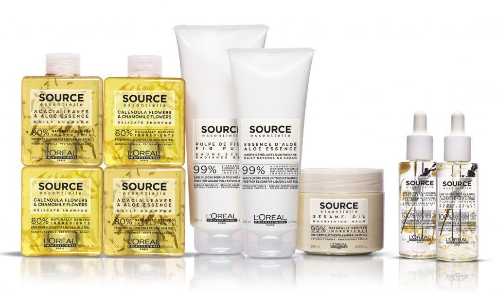 L'Oreal Professionnel Source Essentielle, természetes hajápoló, vegán, környezetbarát, rúzs és más
