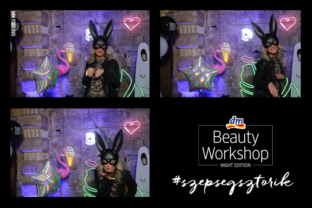 dm szépségsztorik, beauty workshop, night edition, rúzs és más