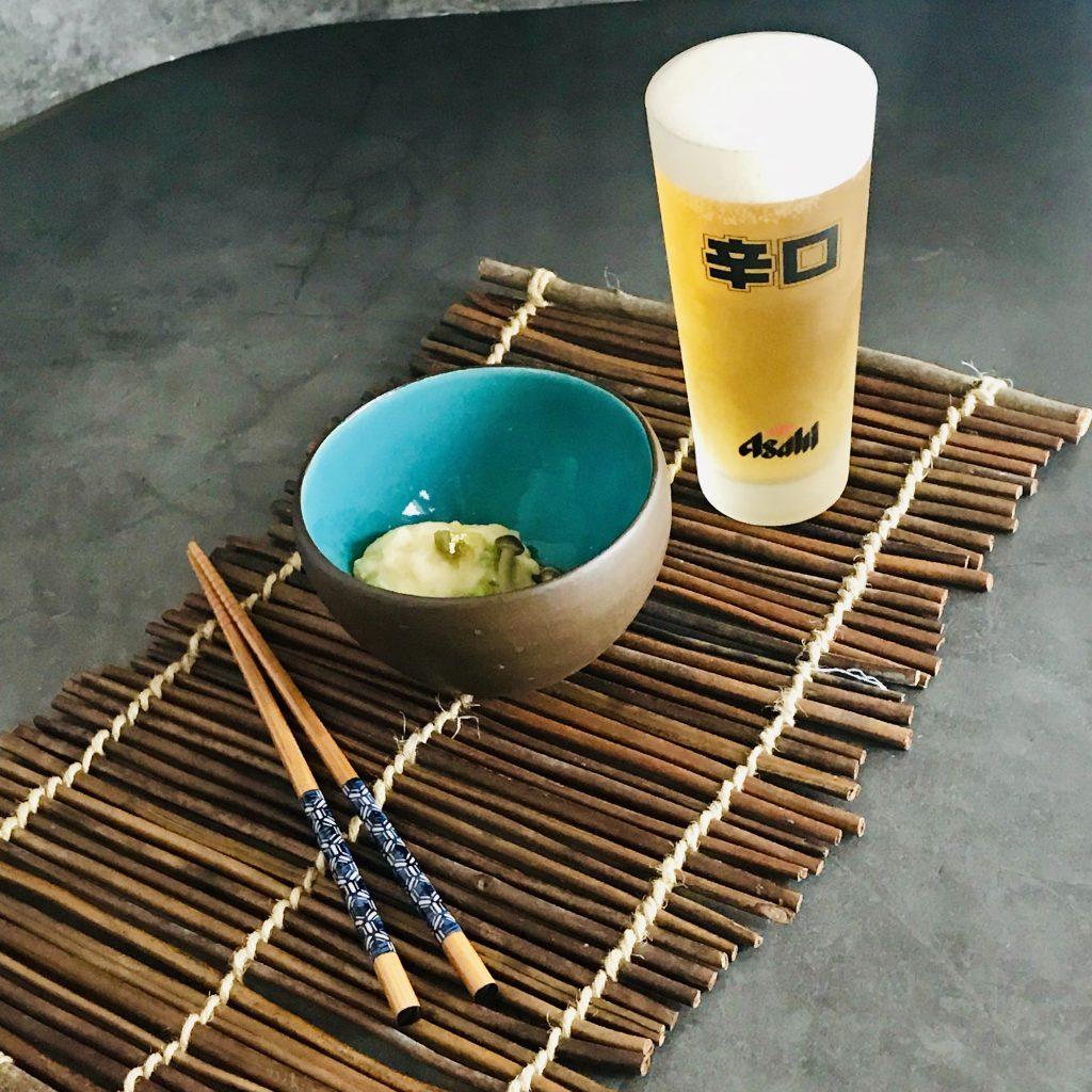 Asahi sör, japán gasztronómia, makifood, maki stevenson, rúzs és más, sör