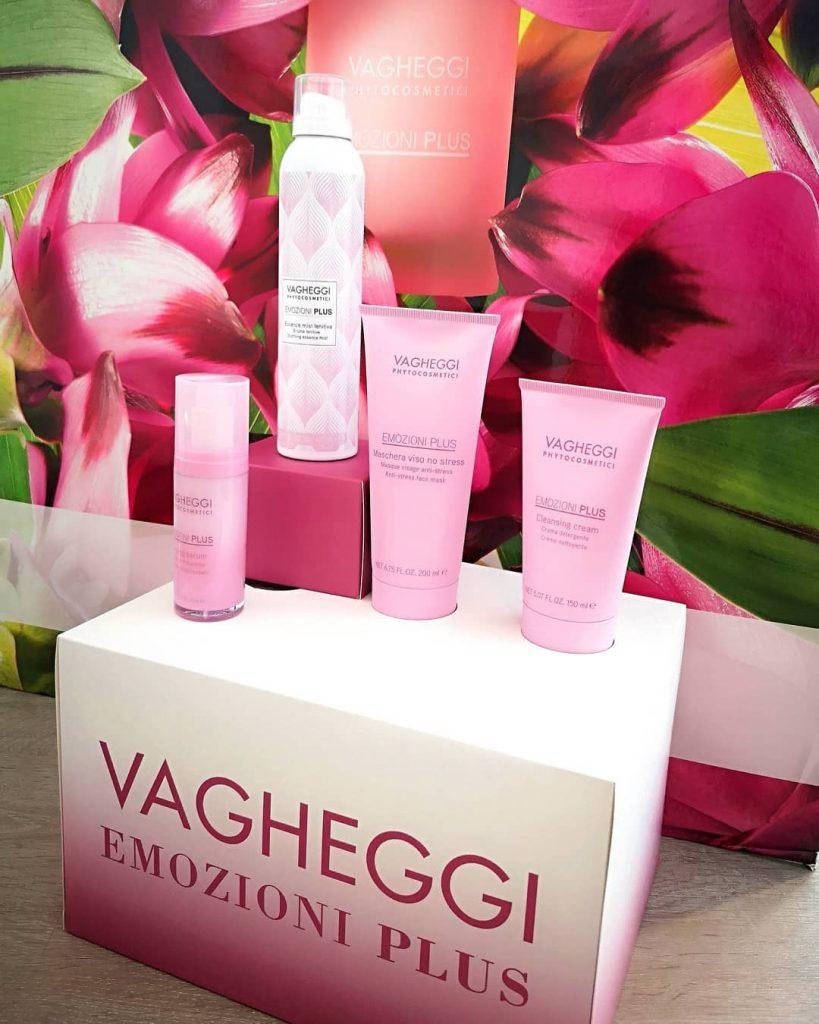 Vagheggi, emozioni plus, érzékeny bőr, bőrápolás, természetes, rúzs és más