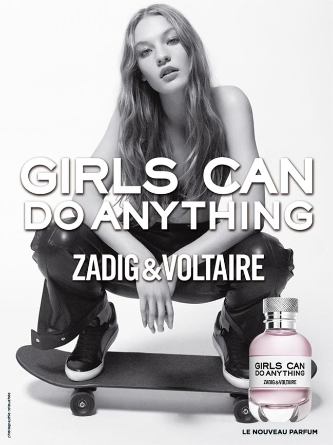 Zadig&Voltaire, Girls can do anything, illat, fougere, rúzs és más