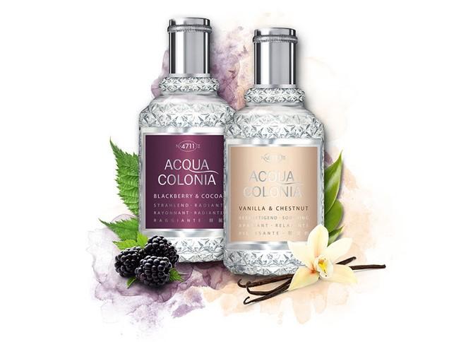 4711 Acqua Colonia, seasonal, szezonális, illat, Blackberry&Cocoa. Vanilla&Chestnut, rúzs és más