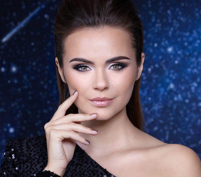 IsaDora Galactic Holiday Makeup, ünnepi kollekció, galaktikus, csillogás, rúzs és más, smink