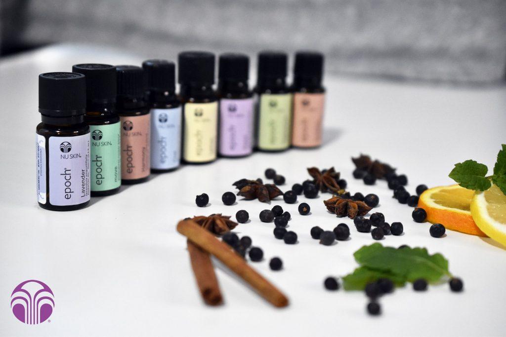 Nu Skin Epoch illóolajok, illatterápia, rúzs és más