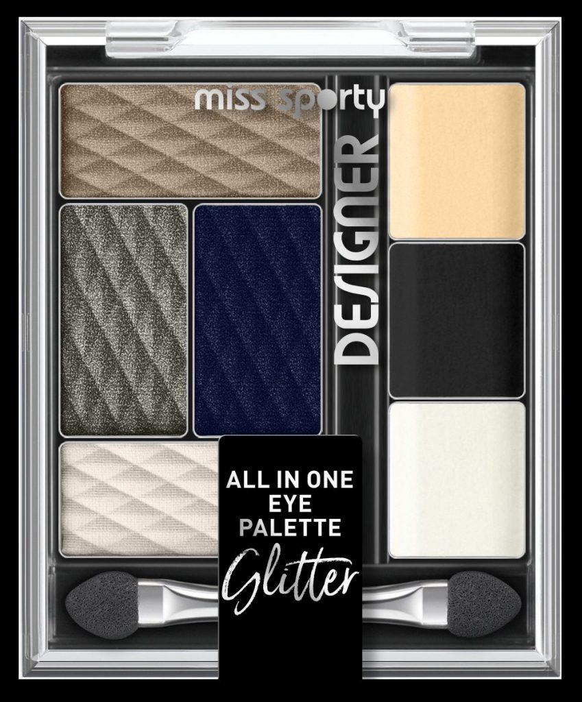Miss Sporty Designer palette, Miss Spectacular, rúzs és más, smink