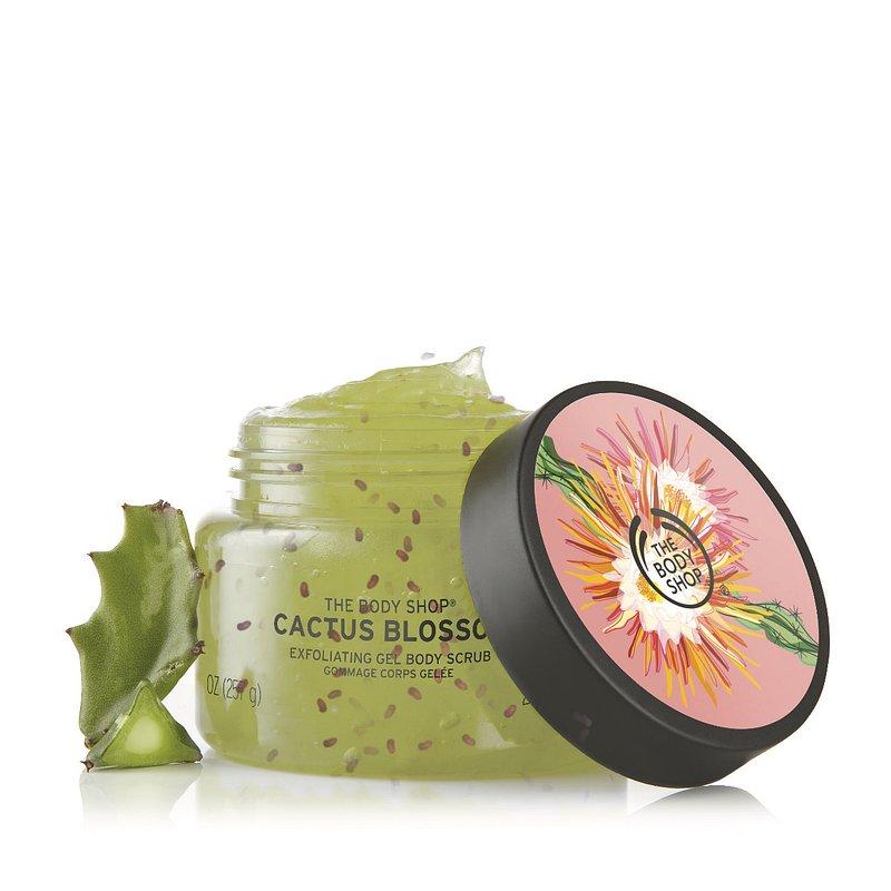 The Body Shop Cactus Blossom, limitált kollekció, kaktusz, rúzs és más, testápolás