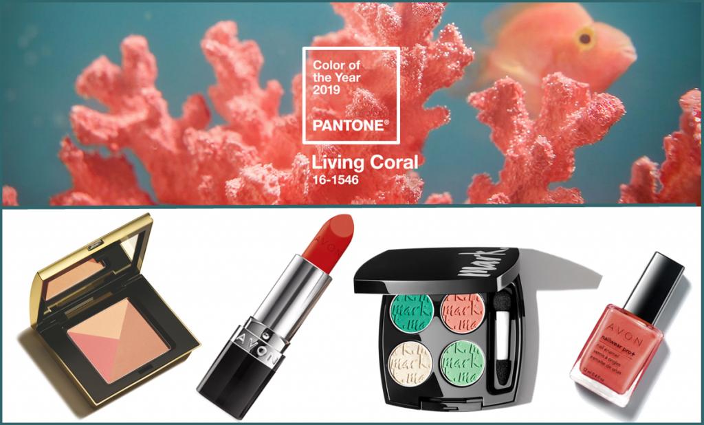 Pantone, év színe, living coral, smink, rúzs és más, korall