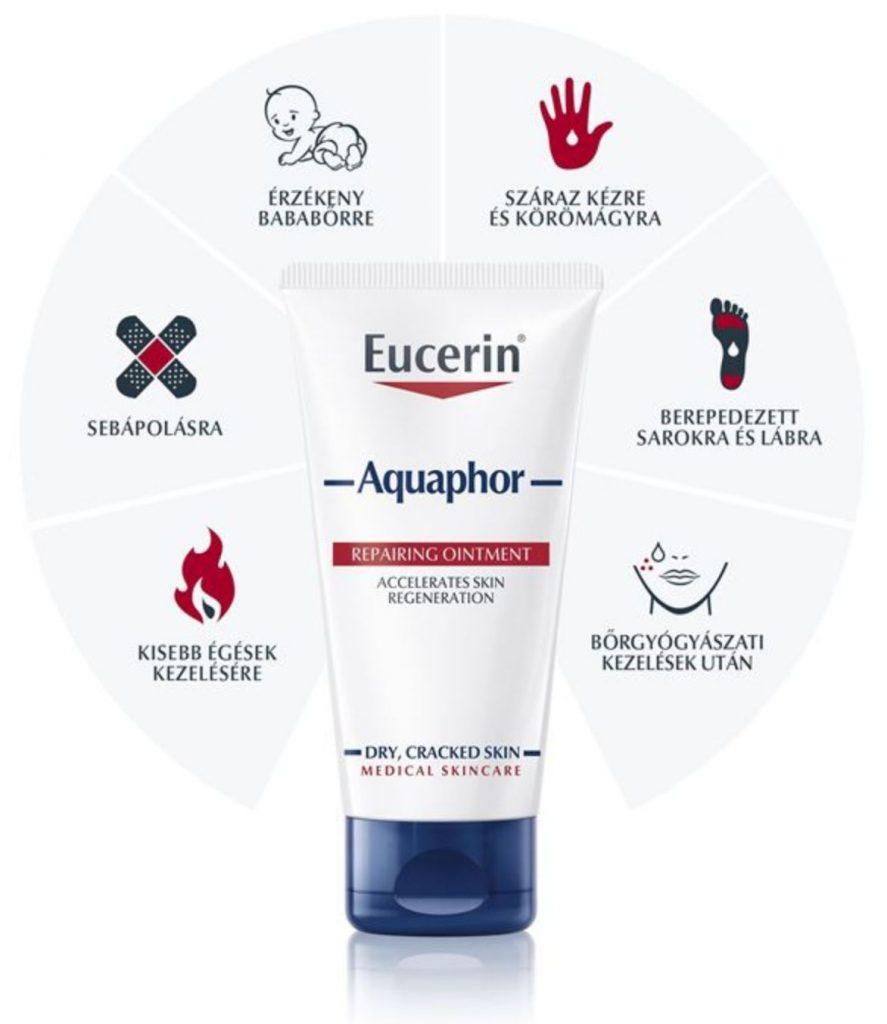Eucerin, Aquaphor, regeneráló, kenőcs, rúzs és más, bőrprobléma