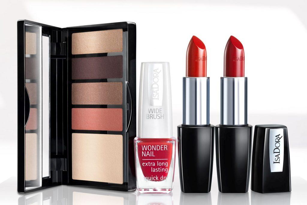 IsaDora In Red, tavaszi smink, kollekció, 2019, in red, rúzs és más, vörös