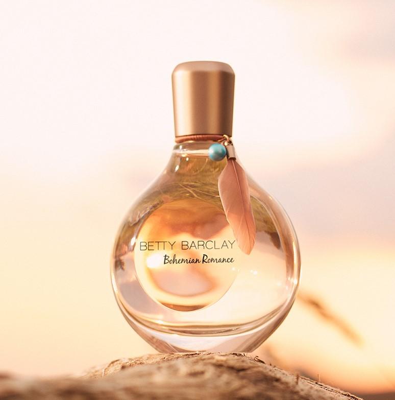 Betty Barclay, Bohemian Romance, illat, parfüm, romantikus, virágos, rúzs és más