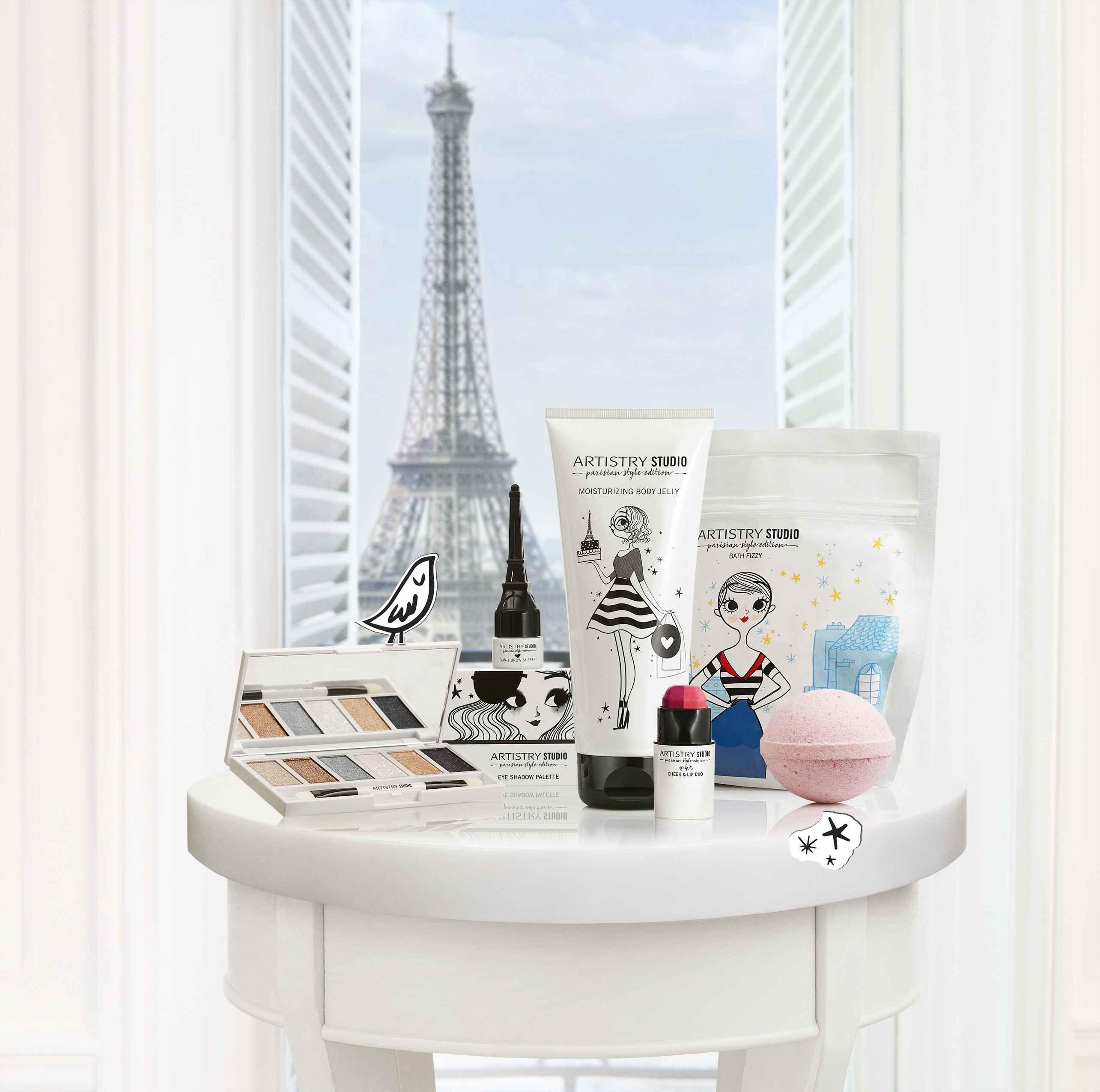 Artistry Studio, Bonjour Paris, sminkkollekció, francia, Párizs, Adolie Day, rúzs és más