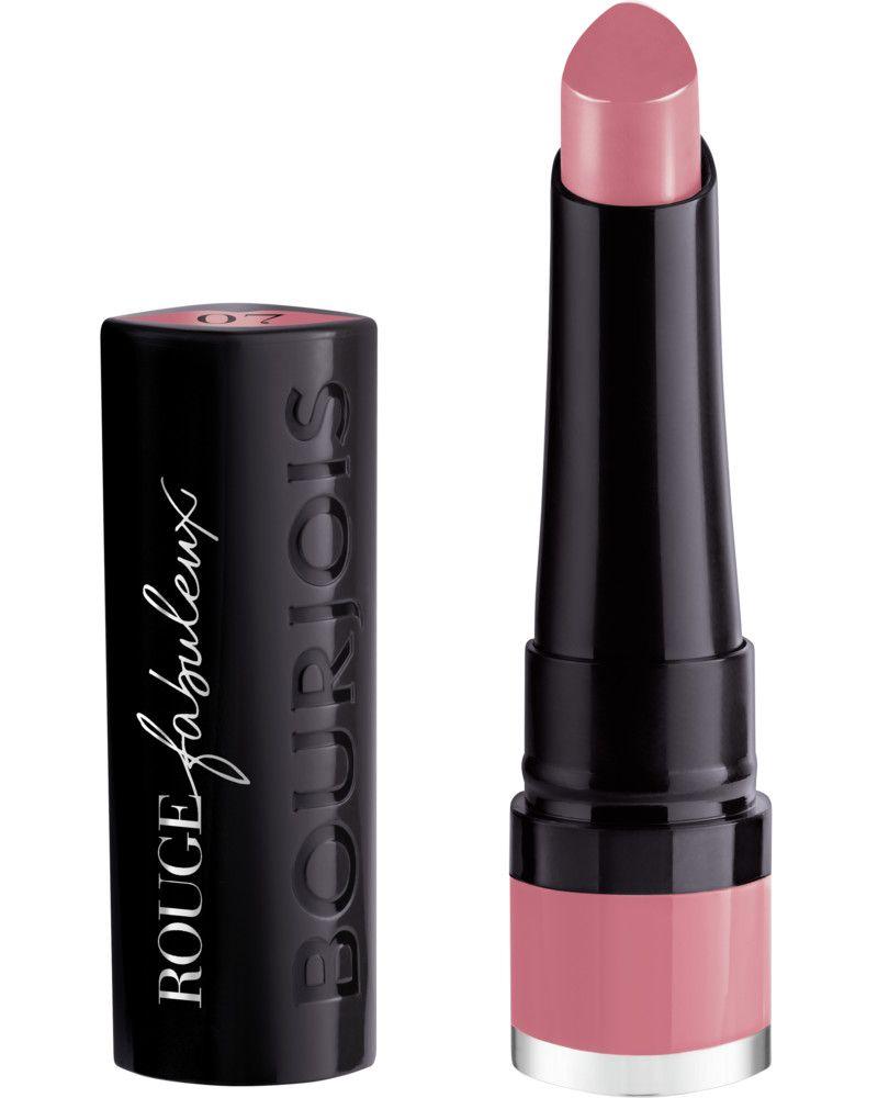 Bourjois Lipstick Fabuleux, Rúzs és más, rúzs, tartós