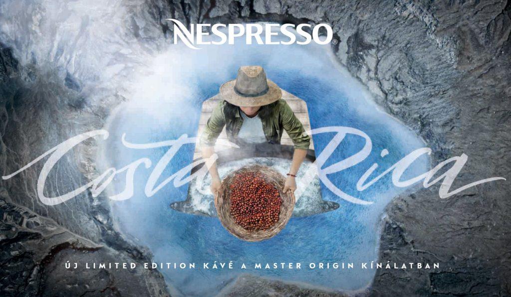 Nespresso, limited edition, master origin, costa rica, rúzs és más