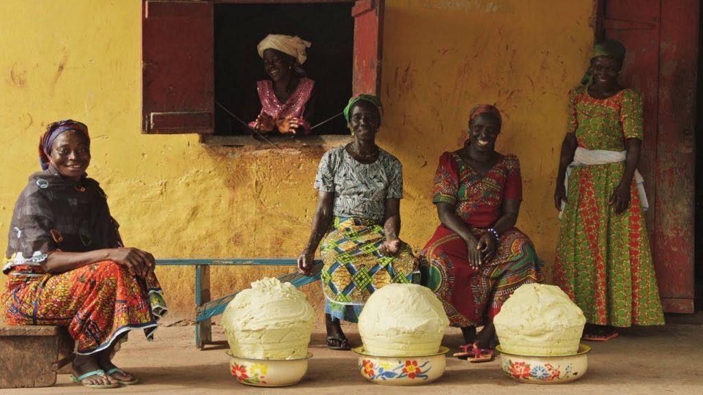 The Body Shop, Shea, sheavaj, Ghána, Közösségi Kereskedelem, rúzs és más