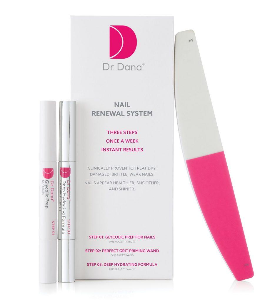 Dr.Dana, körömápolási szett, Nu Skin, köröm, manikűr, rúzs és más