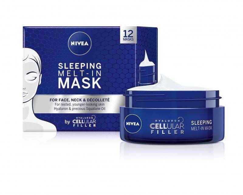 nivea, Q10, sleeping mask, cellular filler, hyaluron filler, detox, urban detox, éjszakai arcmaszk, rúzs és más, arcápolás