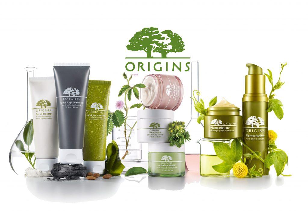Origins, Estée Lauder, növényi, természetes, környezetbarát, arcápolás, rúzs és más