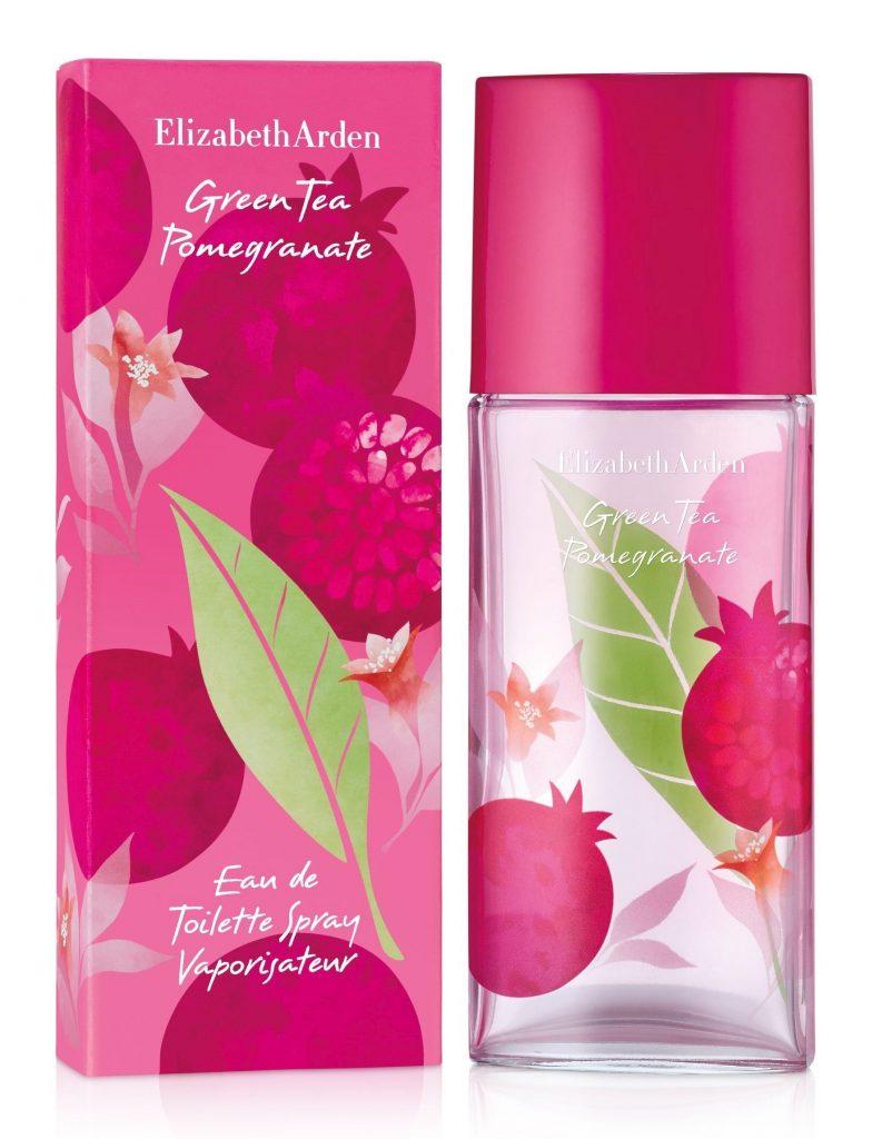 Elizabeth Arden, green tea pomegranate, edp, illat, parfüm, rúzs és más, gránátalma