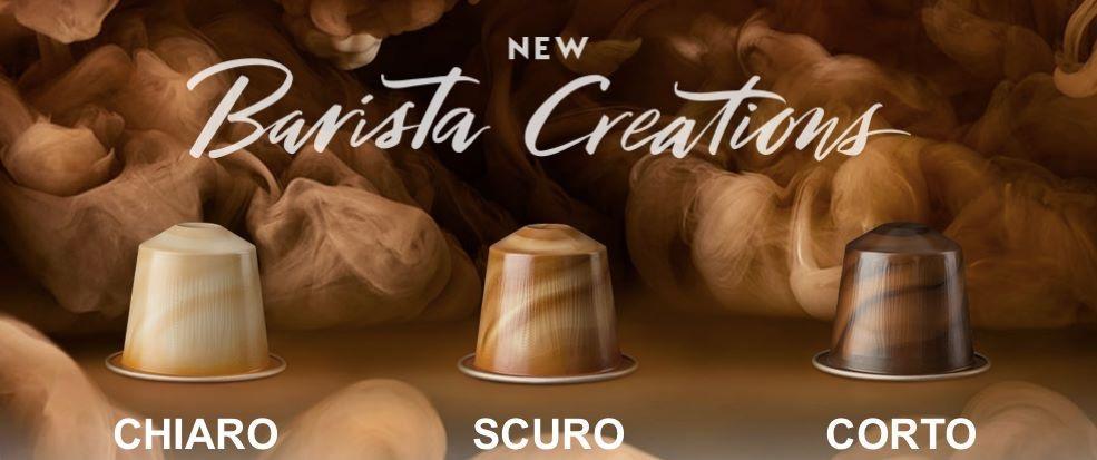 Nespresso, tejeskávé, barista creations, scuro, sós-karamellás, rúzs és más