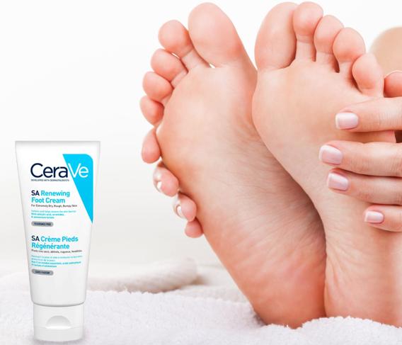 CeraVe, lábápoló, krém, foot cream, lábápolás, láb, rúzs és más, cerave