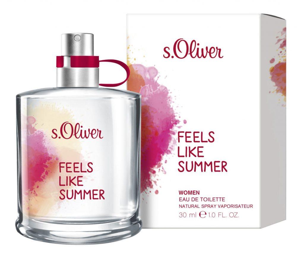 s.Oliver, Fells like summer, nyárillat, limitált, illat, parfüm, rúzs és más, fesztivál