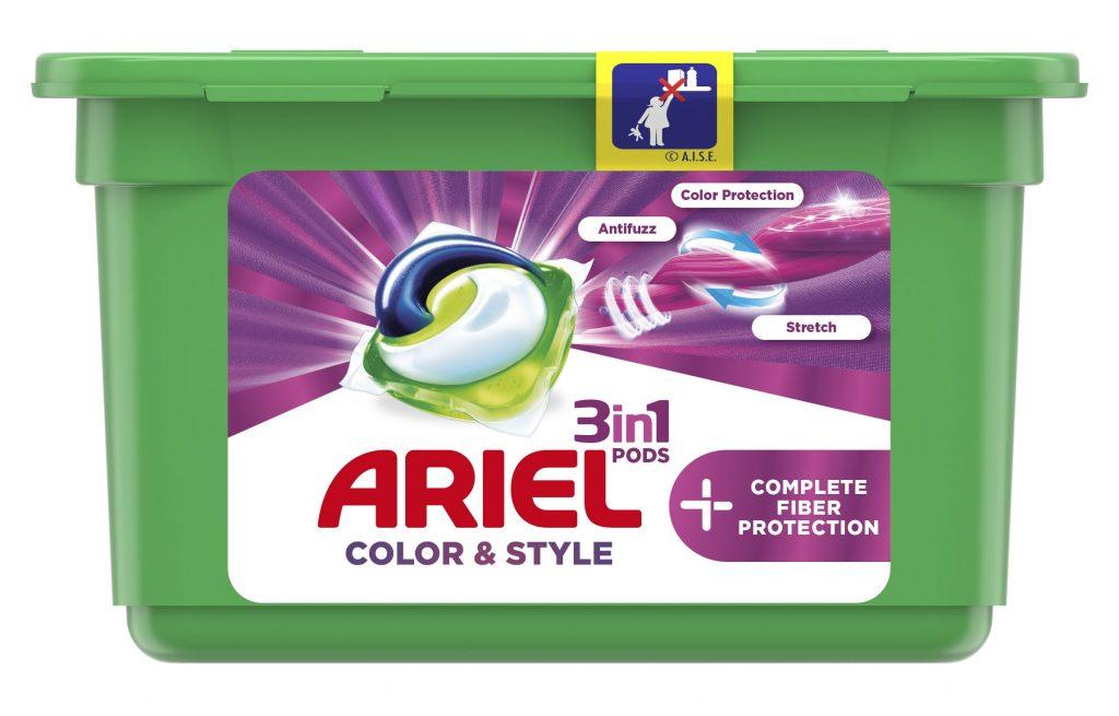 Ariel, mosókapszula, pods, deo, fresh, illatos, szagsemlegesítő, szálvédő, színvédő, Complete, rúzs és más