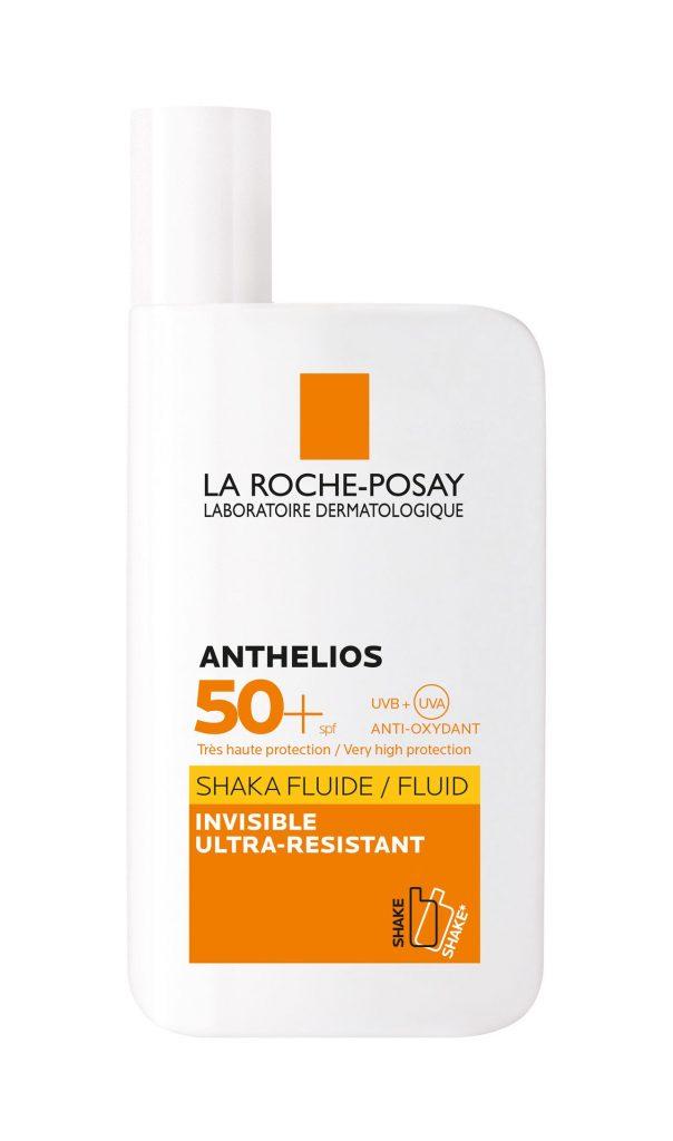 Anthelios Shaka fluid, napozó, napvédő, napvédelem, La Roche-Posay, rúzs és más