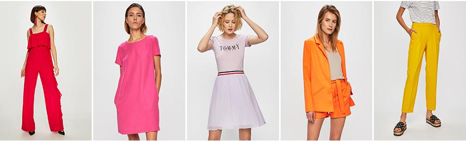 Answear, színkód, élénk színek, trend, divat, színkeverés, rúzs és más