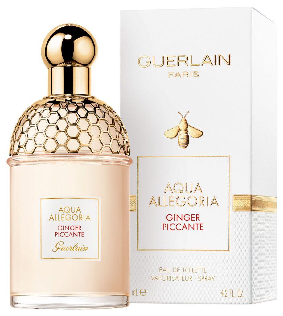 guerlain, aqua allegoria, coconut fizz, ginger piccante, flora cherrysia, edt, illat, fragrance, ikonikus, abeilles, rúzs és más