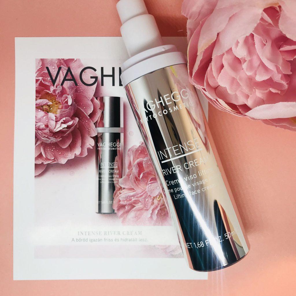 Vagheggi, intense, river, cream, summer, nyári, skincare, arcápolás, anti-aging, rúzs és más
