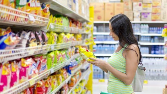 élelmiszer, címke, egészséges, összetétel, étkezés, tudatos, vsásárlás, étel, rúzs és más