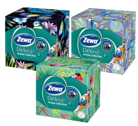 zewa, deluxe, aroma, collection, rózsa, dizájn, trendi, mosógépbiztos, rúzs és más