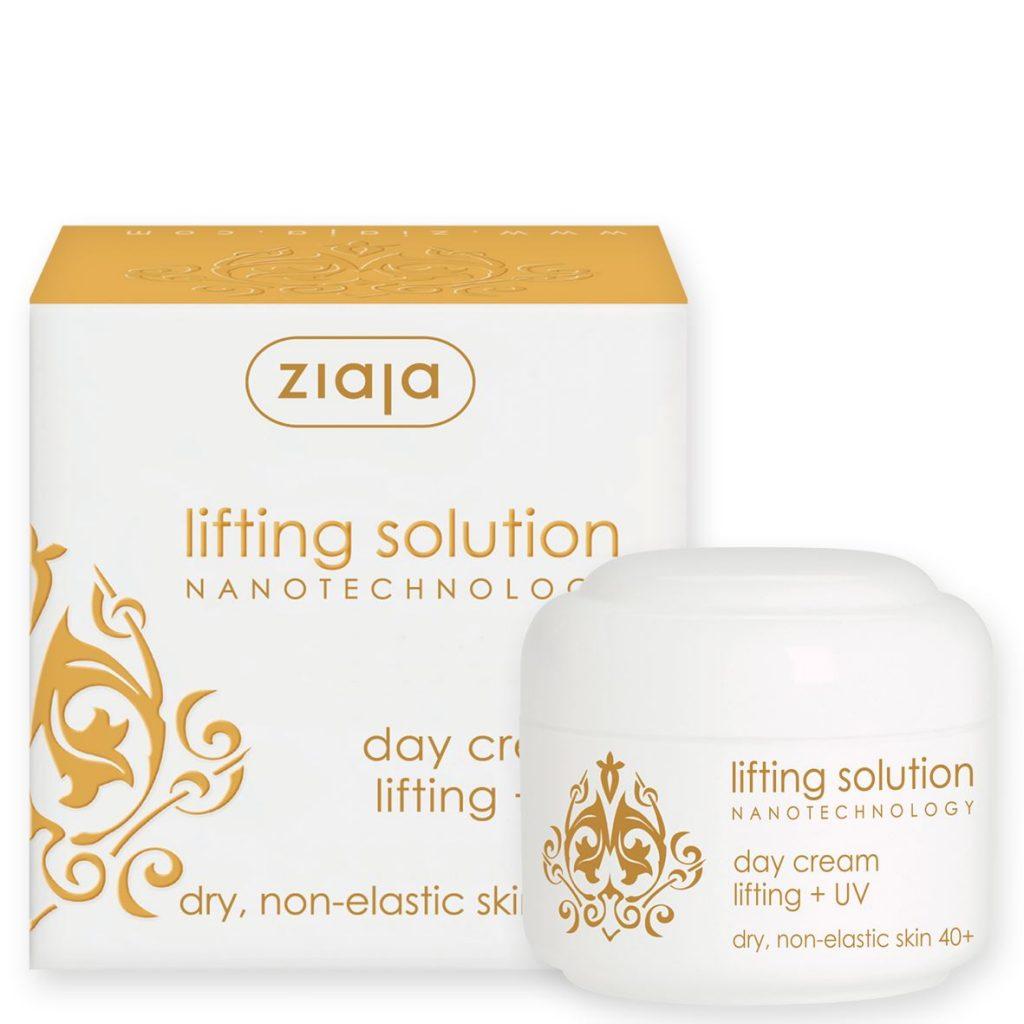 ziaja lifting solution, lifting, 40, 40+, ránctalanító, bőremelő, anti-aging, öregedésgátló, nanotechnológia, mikrokollagén, rúzs és más, teszt