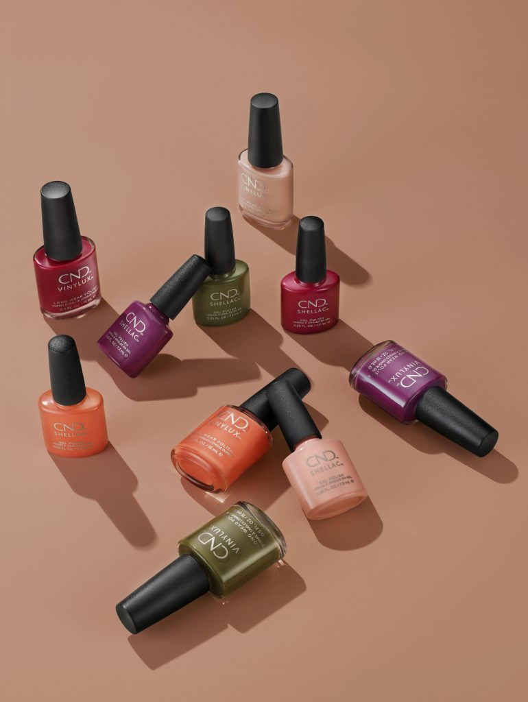 CND, CND nail lounge, treasures moments, őszi kollekció, körömlakk, shellac, vinylux, rúzs és más