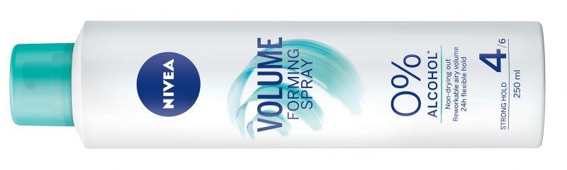 Nivea, firming spray, volume, curl, straight, hajlakk, alkoholmentes, újraformázható, hajformázás, rúzs és más