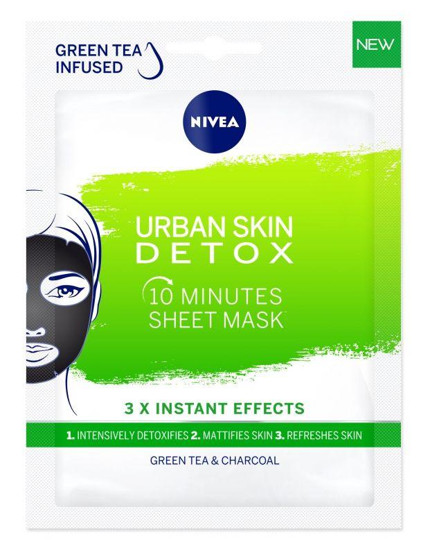 nivea, maszk, arcmaszk, kalauz, fátyolmaszk, sleeping maszk, agyag, urban detox, rúzs és más