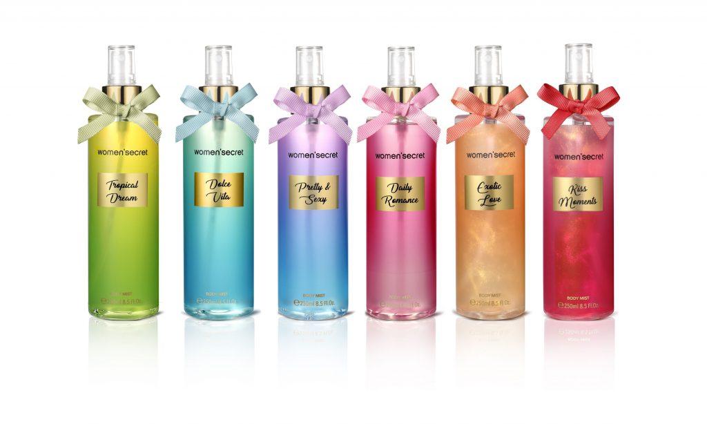 Women'Secret, body mist, testpermet, illat, nőies, csábító, rúzs és más