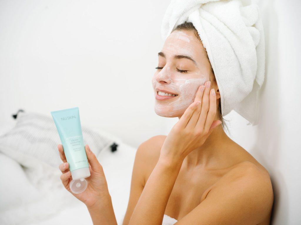 nu skin, nutricenticals, bőrápolás, bőrápolási rutin, városi bőrápolás, rúzs és más