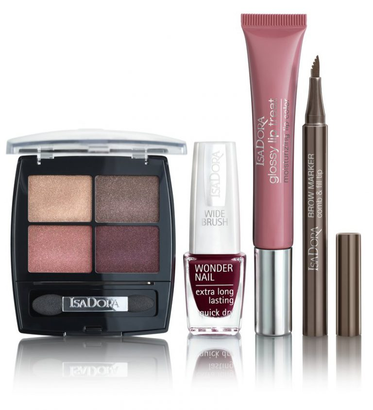 Glossy Lip Treat Moisturizing Lip Color, Active All Day Wear Mascara, isadora, metropolitan, smink, kollekció, sminkkollekció, urban jungle, rúzs és más, douglas